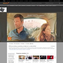 RTVE.es offers you, in scoop, the trailer of 'Alex's Strip'