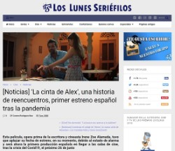 'Alex's Strip', a story of reunions, the first Spanish premiere after the pandemic