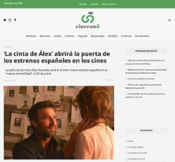 'Alex's Strip' will open the door for Spanish premieres in theaters