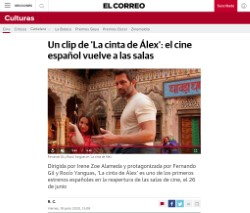 A clip from 'Alex's Strip': Spanish cinema returns to theaters