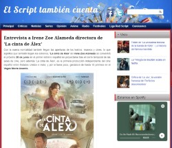 Interview with Irene Zoe Alameda director of 'Alex's Strip'