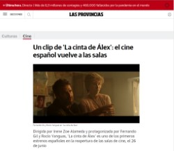 A clip from 'Alex's Strip': Spanish cinema returns to theatres