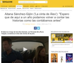 Aitana Sánchez-Gijón ('Alex's Strip'): 'I hope that a year from now we can retell the stories as we told them before'