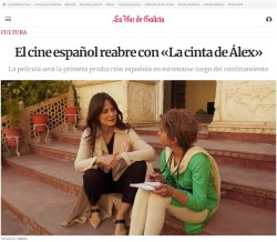 Spanish cinema reopens with 'Alex's Strip'