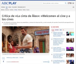 Review of 'Alex's Strip': 'Welcome' to the movies and theaters