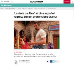 'Alex's Strip': Spanish cinema returns with a pretentious drama