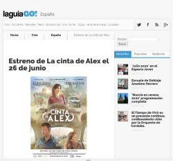Premiere of Alex's Strip on June 26