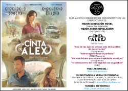 Screening of ALEX'S STRIP at the Academia de Cine