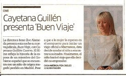 "Cayetana Guillen Cuervo presents ""Have a Nice Trip"""